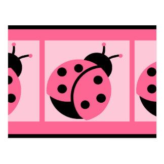 Ladybug Blank Postcard
