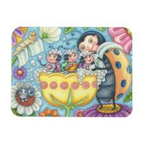 Ladybug Bubblebath LADYBUG FAMILY MAGNET