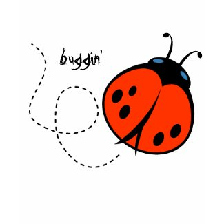 ladybug, buggin' shirt