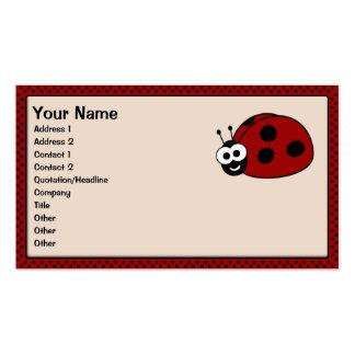 Ladybug Business Cards