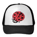 Ladybug Cartoon Character Trucker Hat