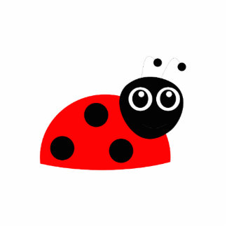 Ladybug cartoon photo cutout