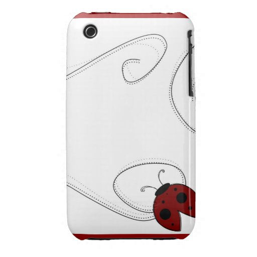 LadyBug Case iPhone 3 Case