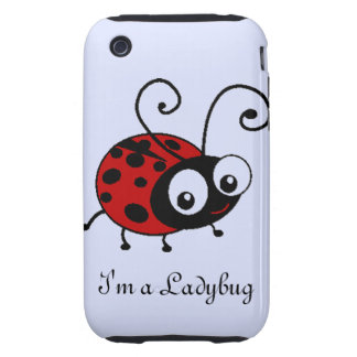 Ladybug Tough iPhone 3 Cases