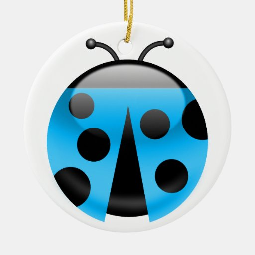 LadyBug Christmas Tree Ornament