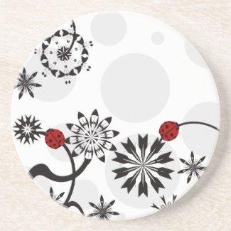 Ladybug Coasters coaster