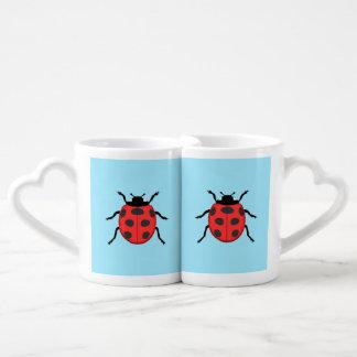 Ladybug Coffee Mug Set