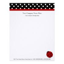 Ladybug Company Letterhead