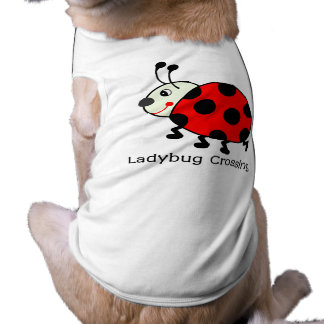 Ladybug Crossing Pet Shirt