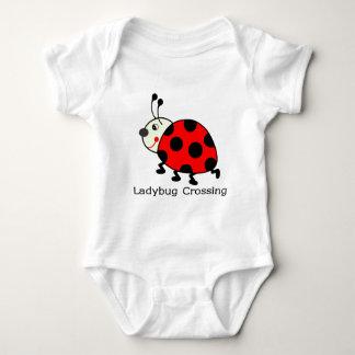 Ladybug Crossing T Shirt