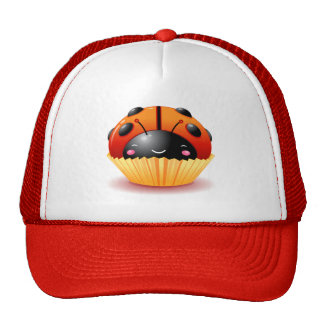 Ladybug Cupcake Hat