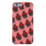 Ladybug Cupcake iPhone 6 Case