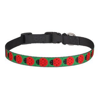 Ladybug Customizable Pet Collar