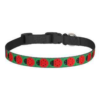 Ladybug Customizable Pet Collar