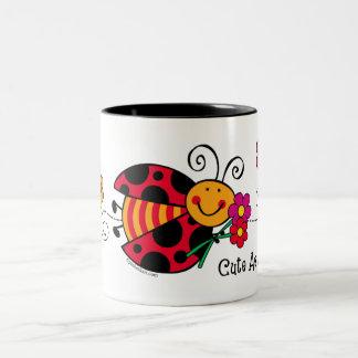 Ladybug Cute As A Bug Mugs