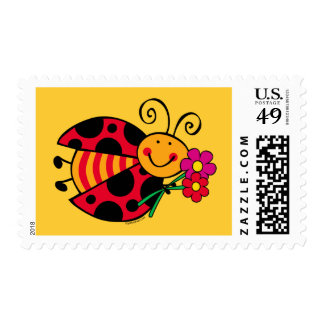 Ladybug Cute As A Bug Postage