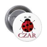 Ladybug Czar Pins