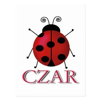Ladybug Czar Postcard