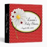 Ladybug Daisy Baby Photo Album Binder
