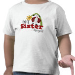 Ladybug Daisy Flower Big Sister T-shirt