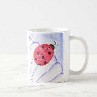 Ladybug Daisy Flower  Coffee Mug