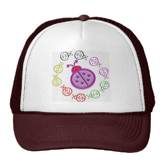 LadyBUG Dance: KIDS love Lady BUG n insects as pet Trucker Hat