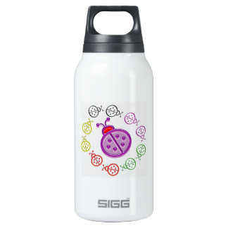 LadyBUG Dance: KIDS love Lady BUG n insects as pet 10 Oz Insulated SIGG Thermos Water Bottle