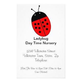 Ladybug Day Nursery Custom Flyer