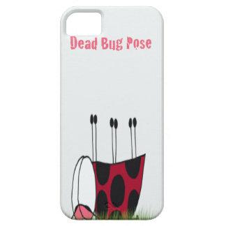 Ladybug Dead Bug Yoga Pose ~ iPhone 5 Case