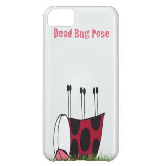 Ladybug Dead Bug Yoga Pose ~ iPhone 5c Case