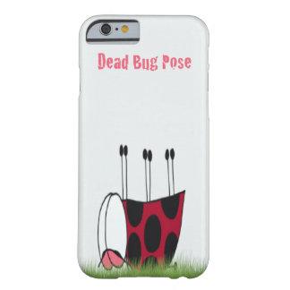 Ladybug Dead Bug Yoga Pose iPhone 6 Case