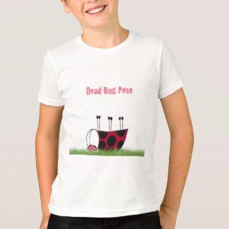 Ladybug Demonstrating The Dead Bug Pose ~Kids Tee
