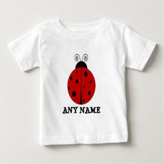 LADYBUG design customized with ANY NAME T Shirts