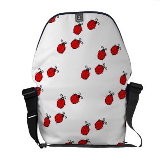 Ladybug dot Animal Office Custom Destiny Destiny'S Messenger Bag