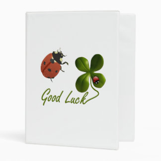 Ladybug dot beetle Office Custom Destiny Destiny'S Mini Binder