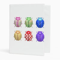 Ladybug dot beetle Office Custom Destiny Destiny'S Mini Binder