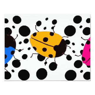 Ladybug Dots Card