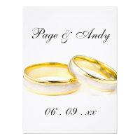 Ladybug Dots Elegant &amp; Stylish  Wedding Personalized Invites (<em>$3.55</em>)
