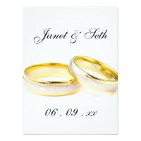 Ladybug Dots Elegant &amp; Stylish Wedding RSVP 6.5x8.75 Paper Invitation Card (<em>$3.25</em>)