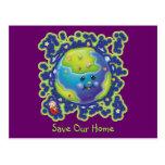 Ladybug Earth Day Postcard