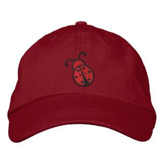 Ladybug Embroidered Baseball Cap