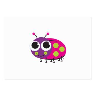 Ladybug Enclosure Card Large Business Cards (Pack Of 100)