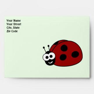 Ladybug Envelopes