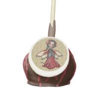 Ladybug Faerie Party Caucasian Cake Pops