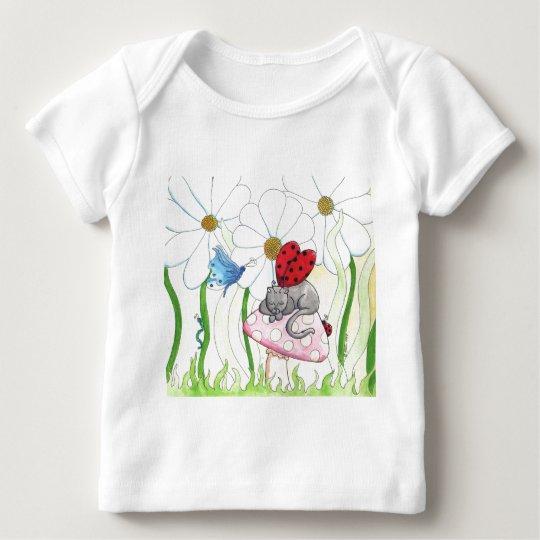 Ladybug Fairy Cat Baby T-Shirt