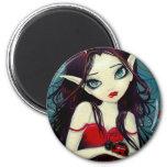 Ladybug Fairy Magnet