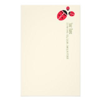 ladybug familiy stationery