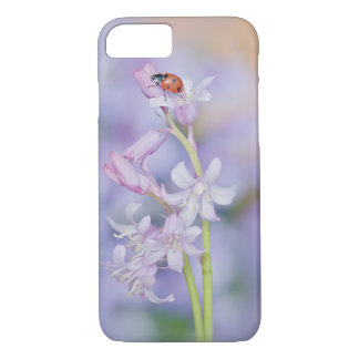 Ladybug Floral iPhone 7 Barely There Case / Cover