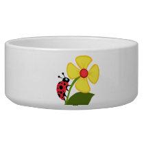 Ladybug Flower Bowl