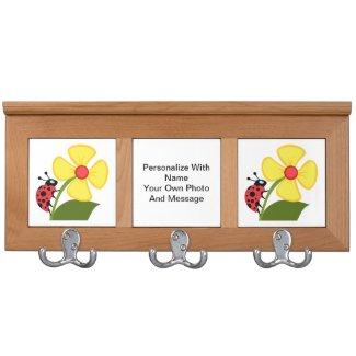Ladybug Flowers Personalized Gift Ideas